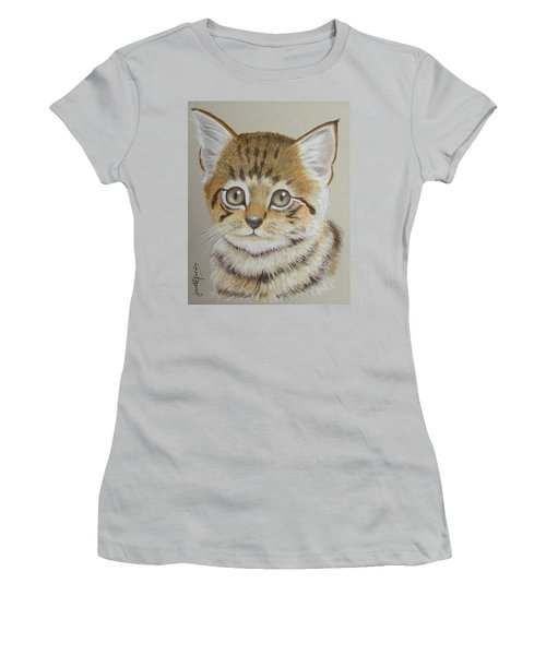 Little Kitty Women's T-Shirt (Athletic Fit)