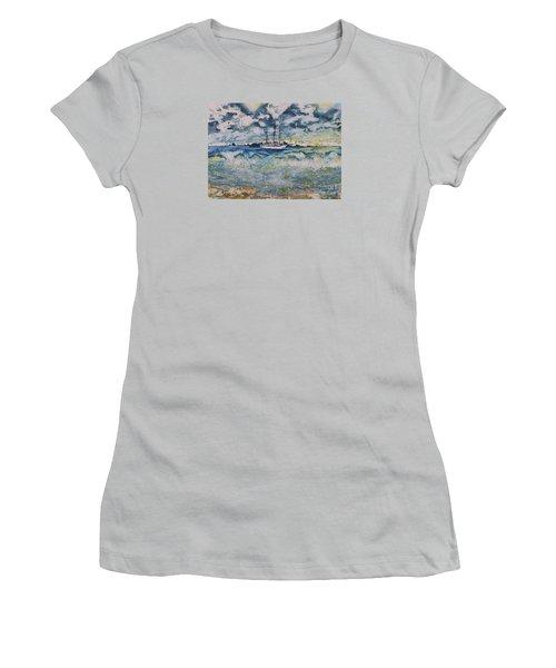 Lone Vessel  Women's T-Shirt (Athletic Fit)