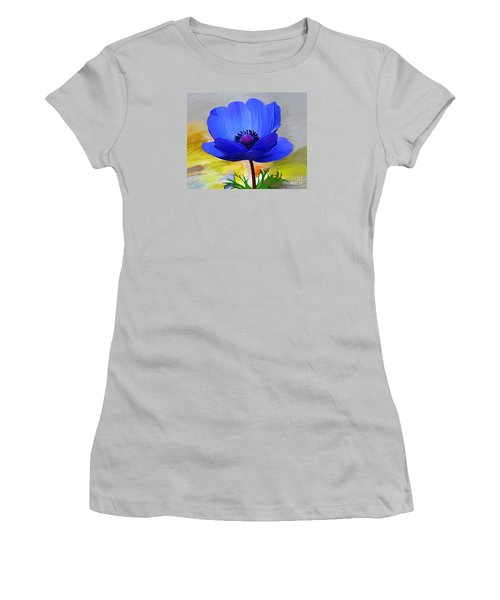 Women's T-Shirt (Junior Cut) featuring the painting Lord Lieutenant by Patricia Griffin Brett