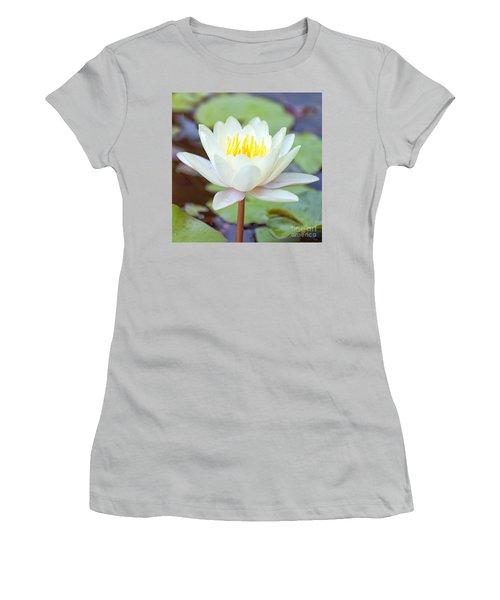 Lotus Flower 02 Women's T-Shirt (Athletic Fit)