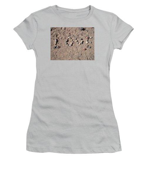 Love Rocks Women's T-Shirt (Athletic Fit)