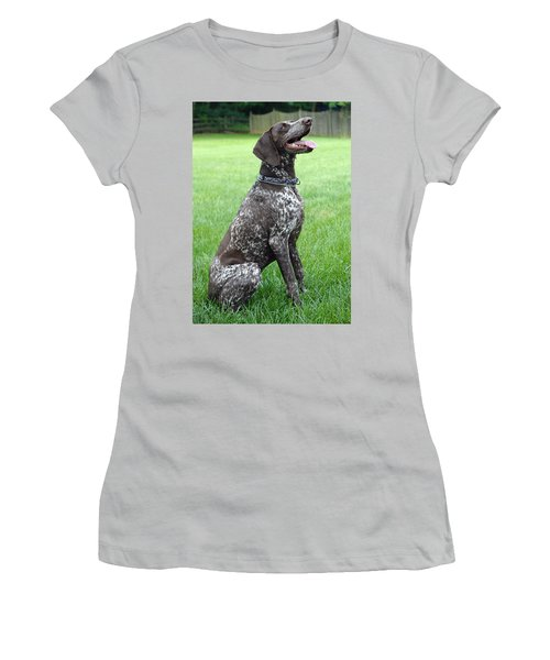 Women's T-Shirt (Junior Cut) featuring the photograph Maggie by Lisa Phillips