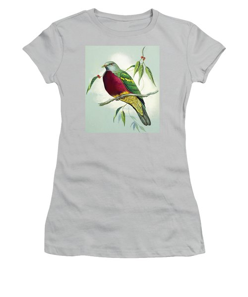 Magnificent Fruit Pigeon Women's T-Shirt (Athletic Fit)