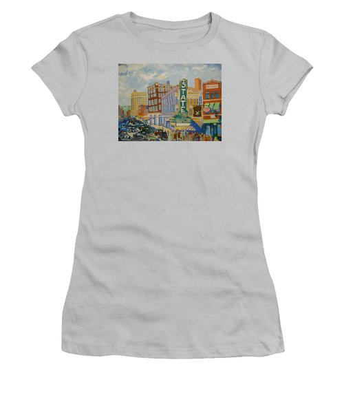 Main Street Women's T-Shirt (Athletic Fit)
