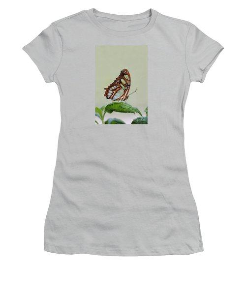 Malachite Butterfly #5 Women's T-Shirt (Junior Cut)