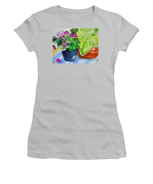 Mimi's Violets Women's T-Shirt (Athletic Fit)