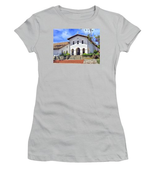 Mission San Luis Obispo De Tolosa Women's T-Shirt (Junior Cut) by Dominic Piperata