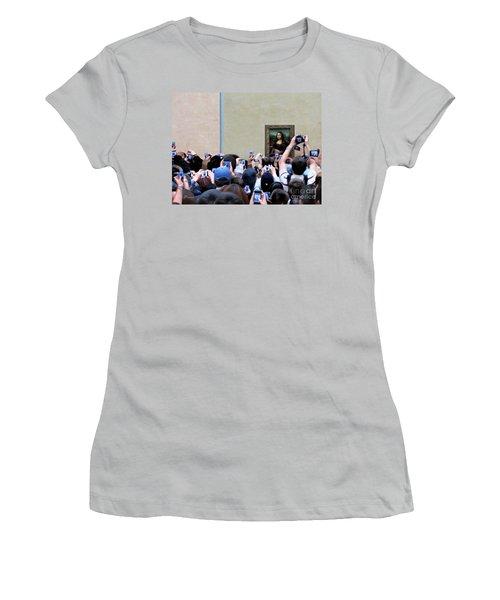 Mona Mobbed Women's T-Shirt (Junior Cut) by Jennie Breeze