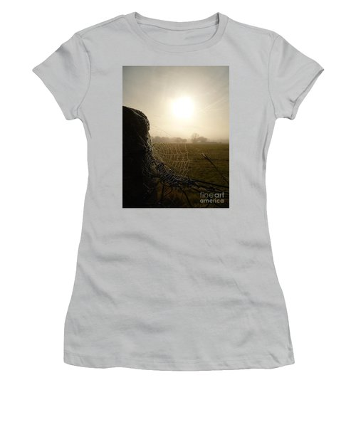 Morning Mist Women's T-Shirt (Junior Cut) by Vicki Spindler
