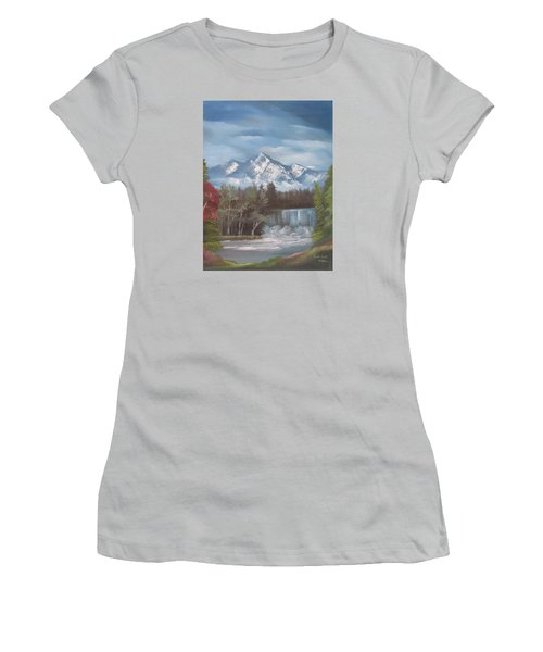 Mountain Dreams Women's T-Shirt (Athletic Fit)