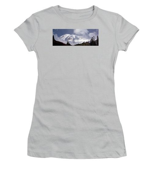 Women's T-Shirt (Junior Cut) featuring the photograph Mt Rainier  by Greg Reed