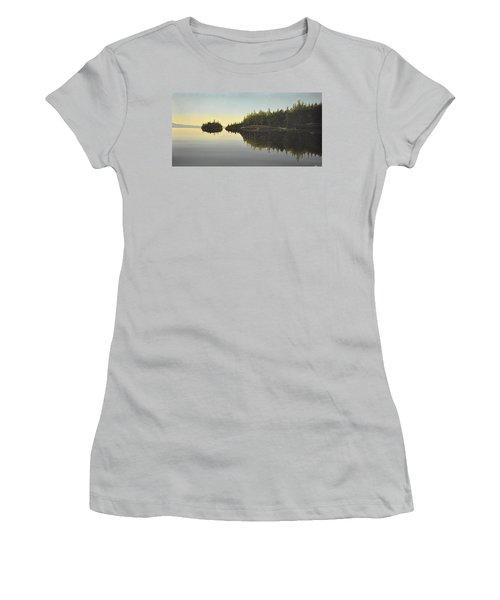 Muskoka Solitude Women's T-Shirt (Junior Cut) by Kenneth M  Kirsch