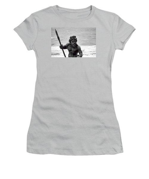 Neptune Women's T-Shirt (Junior Cut) by Anita Lewis