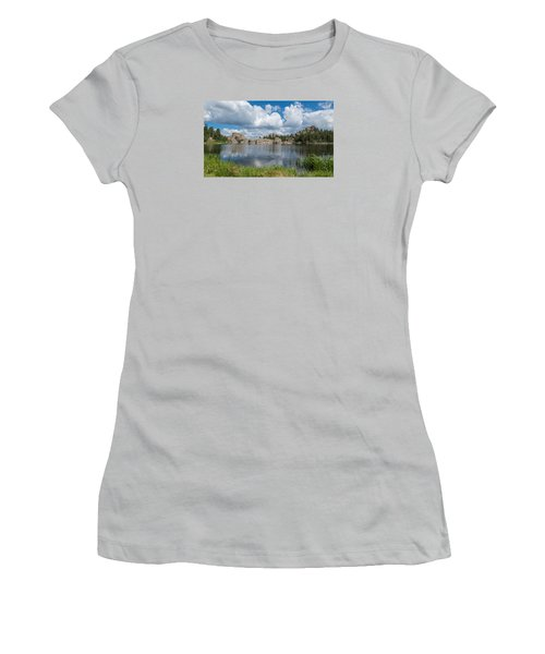 Sylvan Lake South Dakota Women's T-Shirt (Athletic Fit)