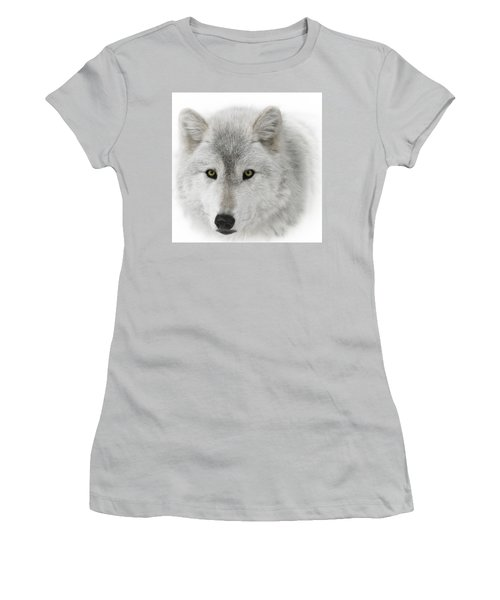 Oh Those Eyes Women's T-Shirt (Junior Cut) by Wes and Dotty Weber