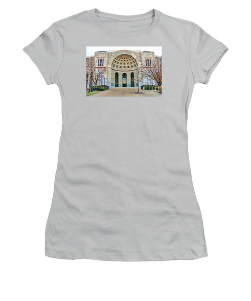 Ohio Stadium Main Entrance 1672 Women's T-Shirt (Athletic Fit)