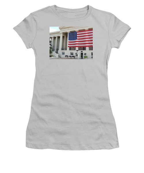Ol' Glory Women's T-Shirt (Athletic Fit)