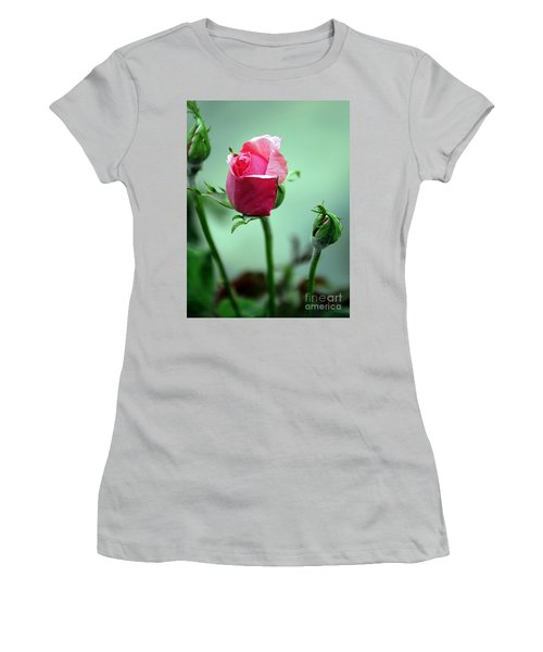 Women's T-Shirt (Athletic Fit) featuring the photograph Oldest Sibling by Clayton Bruster
