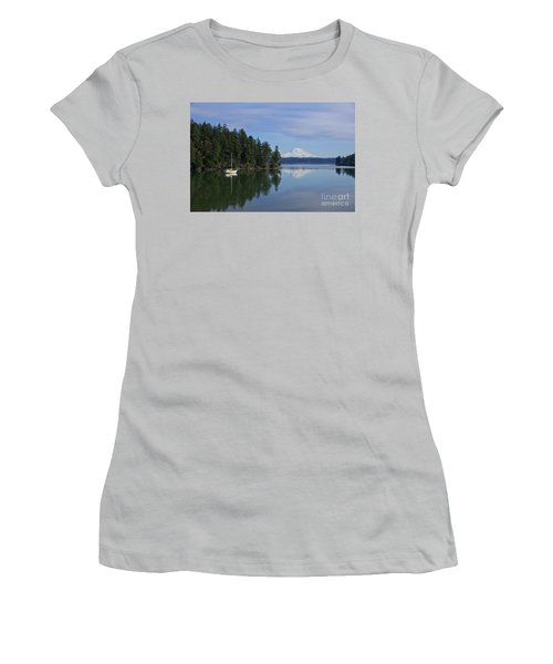 Women's T-Shirt (Junior Cut) featuring the photograph Oro Bay IIi by Sean Griffin