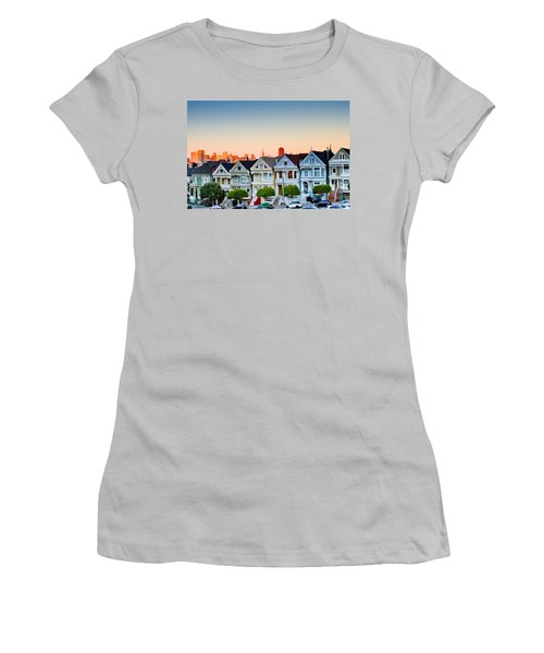 Painted Ladies Women's T-Shirt (Junior Cut) by Bill Gallagher