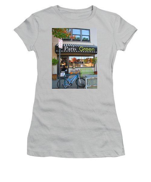 A Little Paris In Ashland Women's T-Shirt (Athletic Fit)