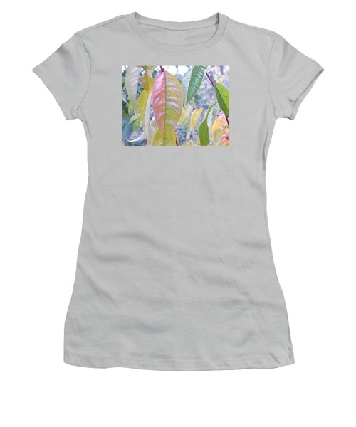 Pastel Symmetry  Women's T-Shirt (Junior Cut) by Brian Boyle