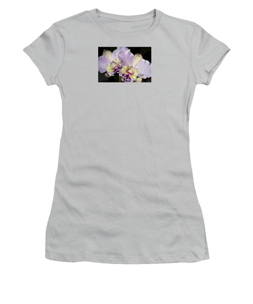 Women's T-Shirt (Junior Cut) featuring the photograph Peace And Love by Phyllis Denton