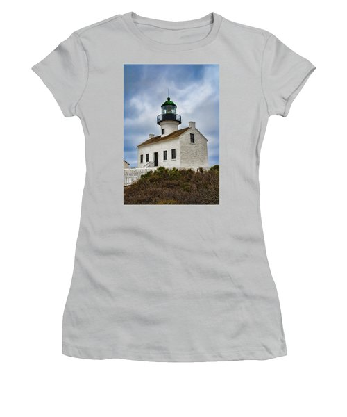 Point Loma Lighthouse Women's T-Shirt (Athletic Fit)