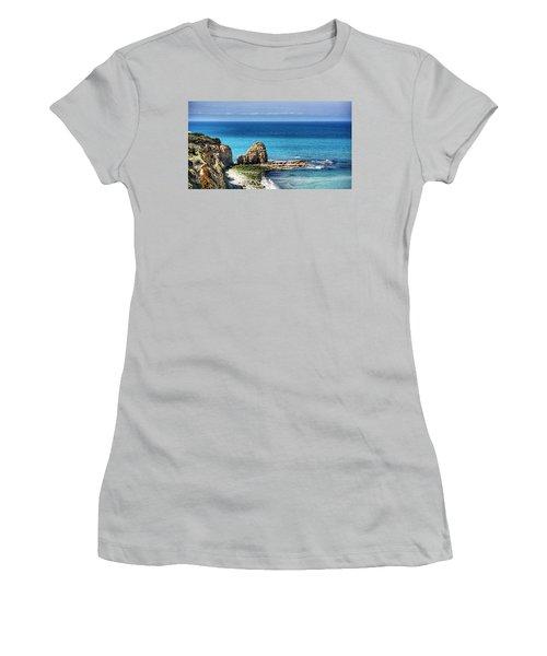Pointe Du Hoc Women's T-Shirt (Athletic Fit)