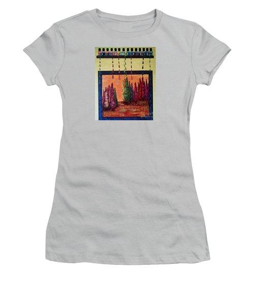 Polished Forest Women's T-Shirt (Junior Cut)