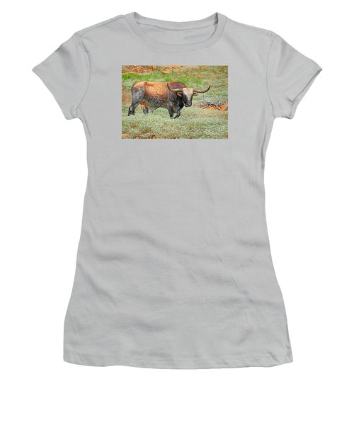 Prairie Longhorn Women's T-Shirt (Athletic Fit)