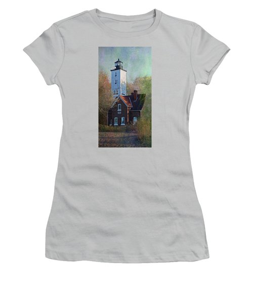 Presque Isle Lighthouse Women's T-Shirt (Athletic Fit)
