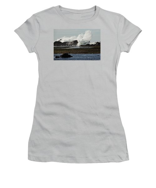 Women's T-Shirt (Junior Cut) featuring the photograph Reaching For The Sky by Dave Files