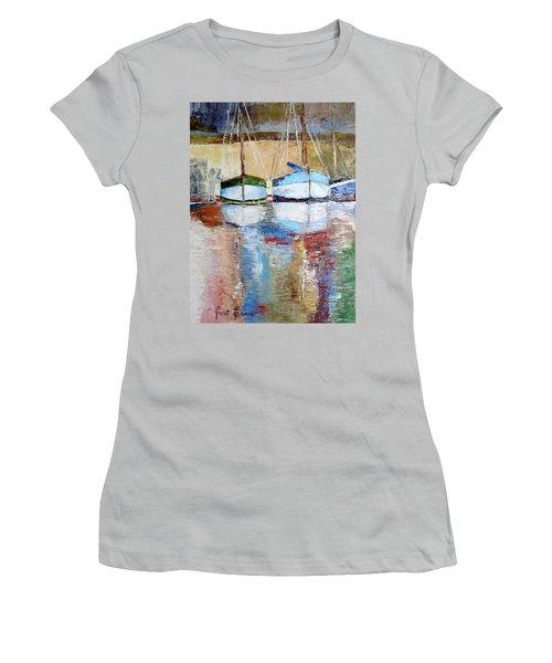 Reflections Women's T-Shirt (Junior Cut) by Janet Garcia