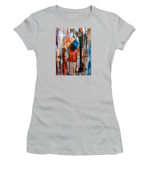 Reflections  Women's T-Shirt (Junior Cut) by Lori  Lovetere