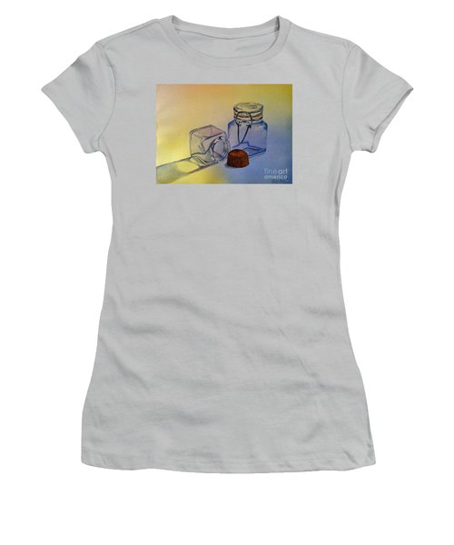Reflective Still Life Jars Women's T-Shirt (Athletic Fit)