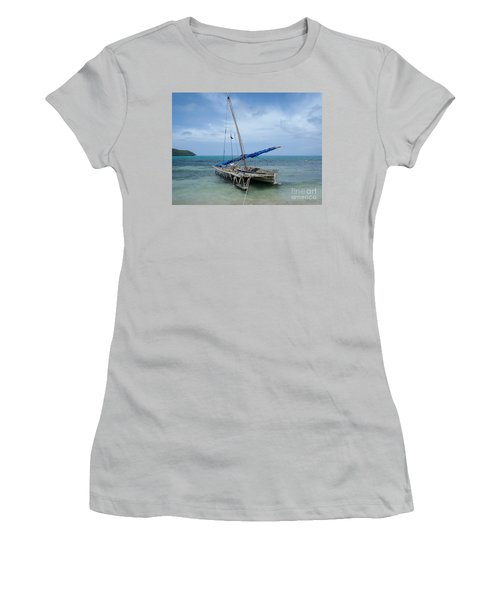 Relaxing After Sail Trip Women's T-Shirt (Athletic Fit)