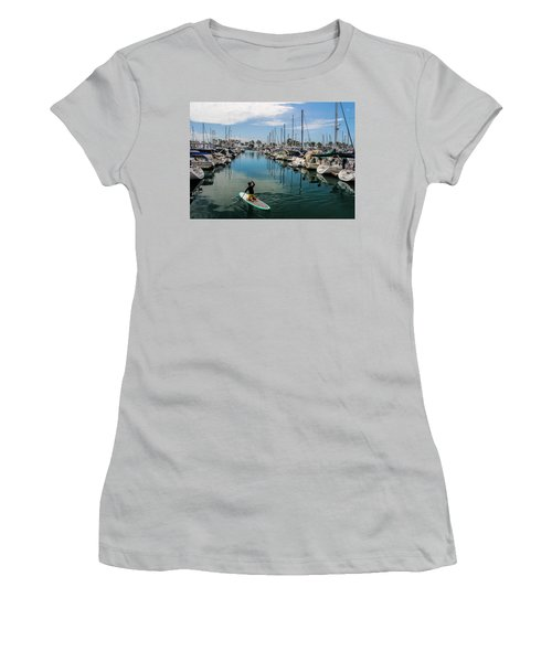 Women's T-Shirt (Junior Cut) featuring the photograph Relaxing Day by Tammy Espino