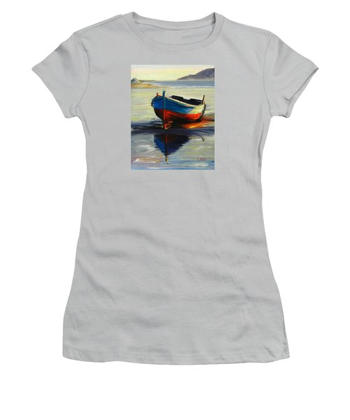 Resting, Peru Impression Women's T-Shirt (Athletic Fit)