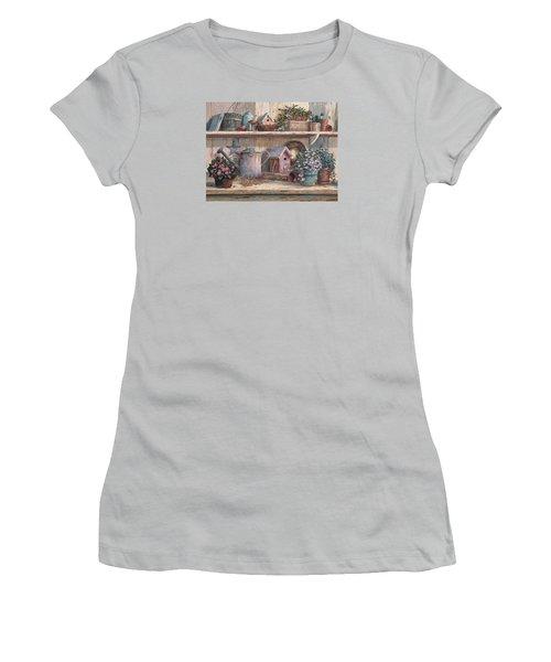 Rhapsody In Rose Women's T-Shirt (Athletic Fit)