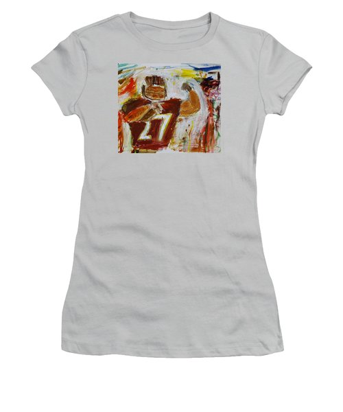 Rice Touchdown Women's T-Shirt (Athletic Fit)