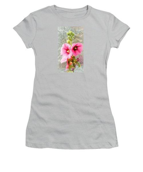 Rose Of The North Abstract. Women's T-Shirt (Athletic Fit)