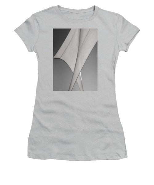 Sailcloth Abstract Number 3 Women's T-Shirt (Athletic Fit)