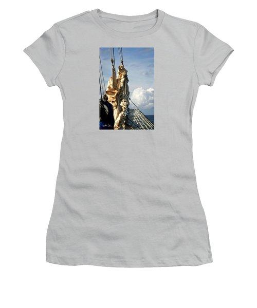 Sails Women's T-Shirt (Junior Cut) by Joan Davis