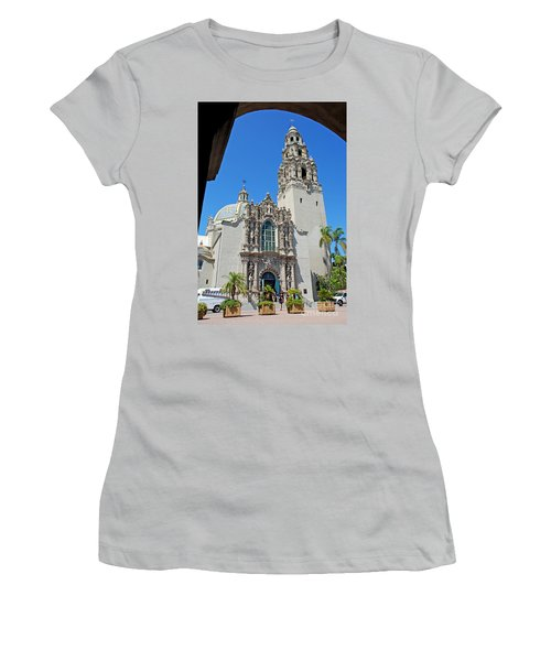 San Diego Museum Of Man Women's T-Shirt (Athletic Fit)