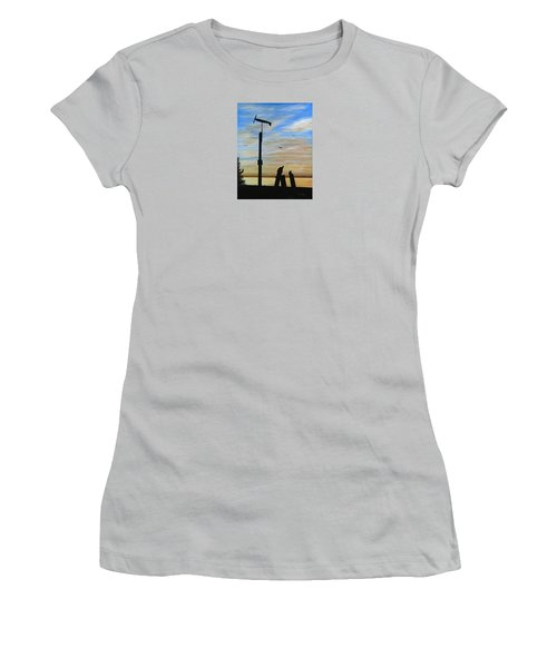 San Onofre Sunrise Women's T-Shirt (Athletic Fit)