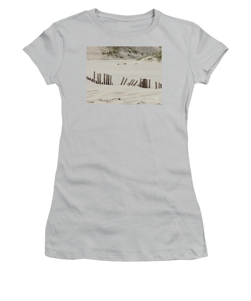 Sand Dunes At Gulf Shores Women's T-Shirt (Athletic Fit)