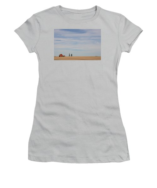 Saskatchewan Women's T-Shirt (Junior Cut) by Betty-Anne McDonald