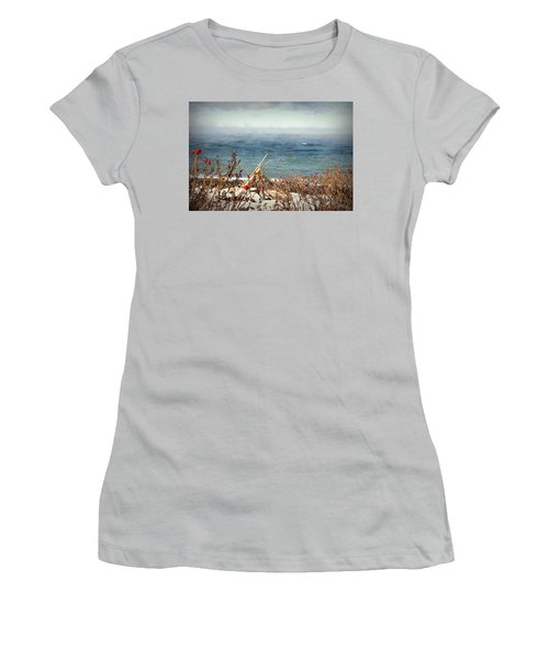 Sea Smoke Women's T-Shirt (Athletic Fit)