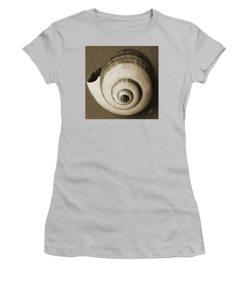 Women's T-Shirt (Athletic Fit) featuring the photograph Seashells Spectacular No 25 by Ben and Raisa Gertsberg